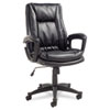 Alera® Clio High-Back Swivel/Tilt Leather Chair