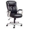 Alera® Carrero High-Back Swivel/Tilt Leather Chair