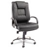 Alera® Ravino Series High-Back Swivel/Tilt Leather Chair
