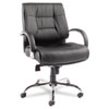 Alera® Ravino Series Mid-Back Swivel/Tilt Leather Chair