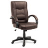 Alera® Strada Series High-Back Swivel/Tilt Chair