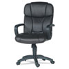 Sealy® AXIS Series Mid Back Executive Leather Chair