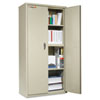 Storage Cabinet, 36w x 19-1/4d x 72h, UL Listed 350°, Parchment