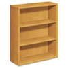 10500 Series Bookcase, 3 Shelves, 36w x 13-1/8d x 43-3/8h, Harvest