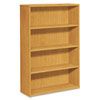 10500 Series Bookcase, 4 Shelves, 36w x 13-1/8d x 57-1/8h, Harvest
