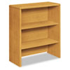10700 Series Bookcase Hutch, 32-5/8w x 14-5/8d x 37-1/8h, Harvest