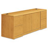 10700 Series Credenza With Doors, 72w x 24d x 29-1/2h, Harvest