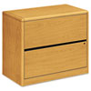 10700 Series Two-Drawer Lateral File, 36w x 20d x 29-1/2h, Harvest