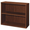 Attune Series Bookcase, 2 Shelves, 36w x 13-1/8d x 29-5/8h, Shaker Cherry