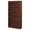Attune Series Bookcase, 5 Shelves, 36w x 13-1/8d x 71h, Shaker Cherry