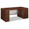 Attune Double Pedestal Desk, Frosted Mod Panel, 72w x 36d x 29-1/2h, Shaker CY