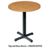 "2mm Edge Round Hospitality Table Top, 30"" Diameter, Harvest"
