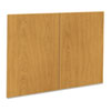Optional Doors, 1870/1890 Series Laminate Bookcases, 36w x 25-3/4h, Harvest