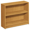 1870 Series Bookcase, 2 Shelves, 36w x 11-1/2d x 29-7/8h, Harvest