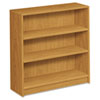 1870 Series Bookcase, 3 Shelves, 36w x 11-1/2d x 36-1/8h, Harvest