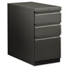 Flagship Mobile Box/Box/File Pedestal, Full Radius Pull, 28-7/8d, Charcoal