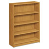 1870 Series Bookcase, 4 Shelves, 36w x 11-1/2d x 48-3/4h, Harvest