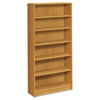 1870 Series Bookcase, 6 Shelves, 36w x 11-1/2d x 72-5/8h, Harvest