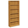 1870 Series Bookcase, 6 Shelves, 36w x 11-1/2d x 84h, Harvest