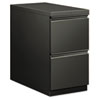 Flagship Mobile File/File Pedestal, Full Radius Pull, 28-7/8d, Charcoal