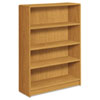 1890 Series Bookcase, 4 Shelves, 36w x 11-1/2d x 48-3/4h, Harvest