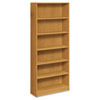 1890 Series Bookcase, 6 Shelves, 36w x 11-1/2d x 84h, Harvest