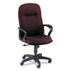 Gamut Series Executive High-Back Swivel/Tilt Chair, Claret Burgundy