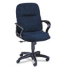 Gamut Series Managerial Mid-Back Swivel/Tilt Chair, Navy Blue