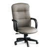 Allure Executive High-Back Swivel/Tilt Chair, Lava Fabric