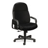 24-Hour Executive High-Back Swivel/Tilt Chair, Black