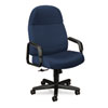 24-Hour Executive High-Back Swivel/Tilt Chair, Blue