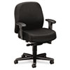 24-Hour Mid-Back Synchro-Tilt Task Chair, Black