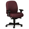 24-Hour Mid-Back Synchro-Tilt Task Chair, Burgundy