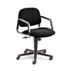 Solutions Seating Mid-Back Swivel/Tilt Chair, Black