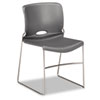 Olson Stacker Chair, Silver Gray, 4/Carton