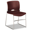 Olson Stacker Chair, Garnet, 4/Carton