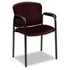Tiempo Guest Arm Chair without Casters, Wine