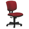 Volt Series Task Chair, Polyester, Burgundy Fabric