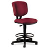Volt Series Adjustable Task Stool, 27w x 29-1/2d x 49-7/8h, Burgundy