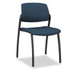 F3 Series Armless Guest Chair, Mariner Upholstery