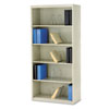 600 Series Jumbo Open File, 5-Shelf, Steel, Lgl, 36w x 16-3/4d x 75-7/8h, Putty