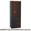 Aberdeen Personal Storage Tower, Box 1 Of 2, 24w x 24d x 68¾h, Mocha
