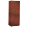 Aberdeen Personal Storage Tower, Box 2 Of 2, 24w x 24d x 68¾h, Cherry