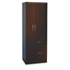 Aberdeen Personal Storage Tower, Box 2 Of 2, 24w x 24d x 68¾h, Mocha