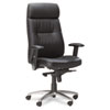Mayline® Leather Seating Series Pivot Arm Swivel/Tilt Chair
