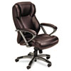 Mayline® Leather Seating Mid-Back Chair