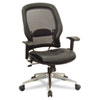 SPACE® Air Grid® Series Professional Leather Chair