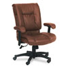 Office Star™ 93 Series Executive Leather Mid-Back Swivel/Tilt Chair