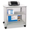 Impromptu Deluxe Machine Stand, 34-3/4w x 24-1/4d x 31h, Silver/Gray