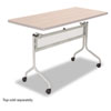 Impromptu Mobile Training Table Base, 37-1/2w x 24d x 28h, Silver
